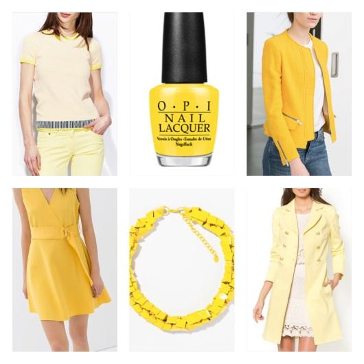 Vêtements jaune